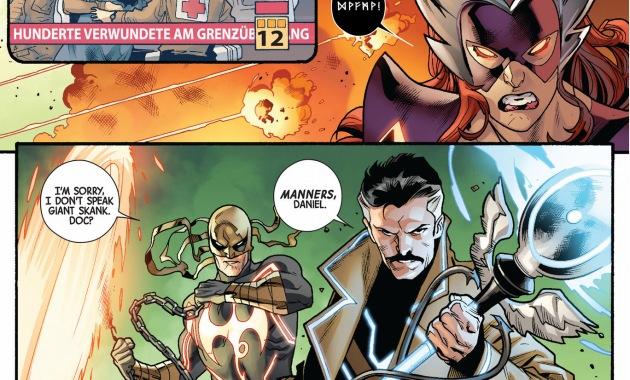 doctor strange and iron fist vs skirn