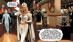 emma frost's problem with the mutant museum