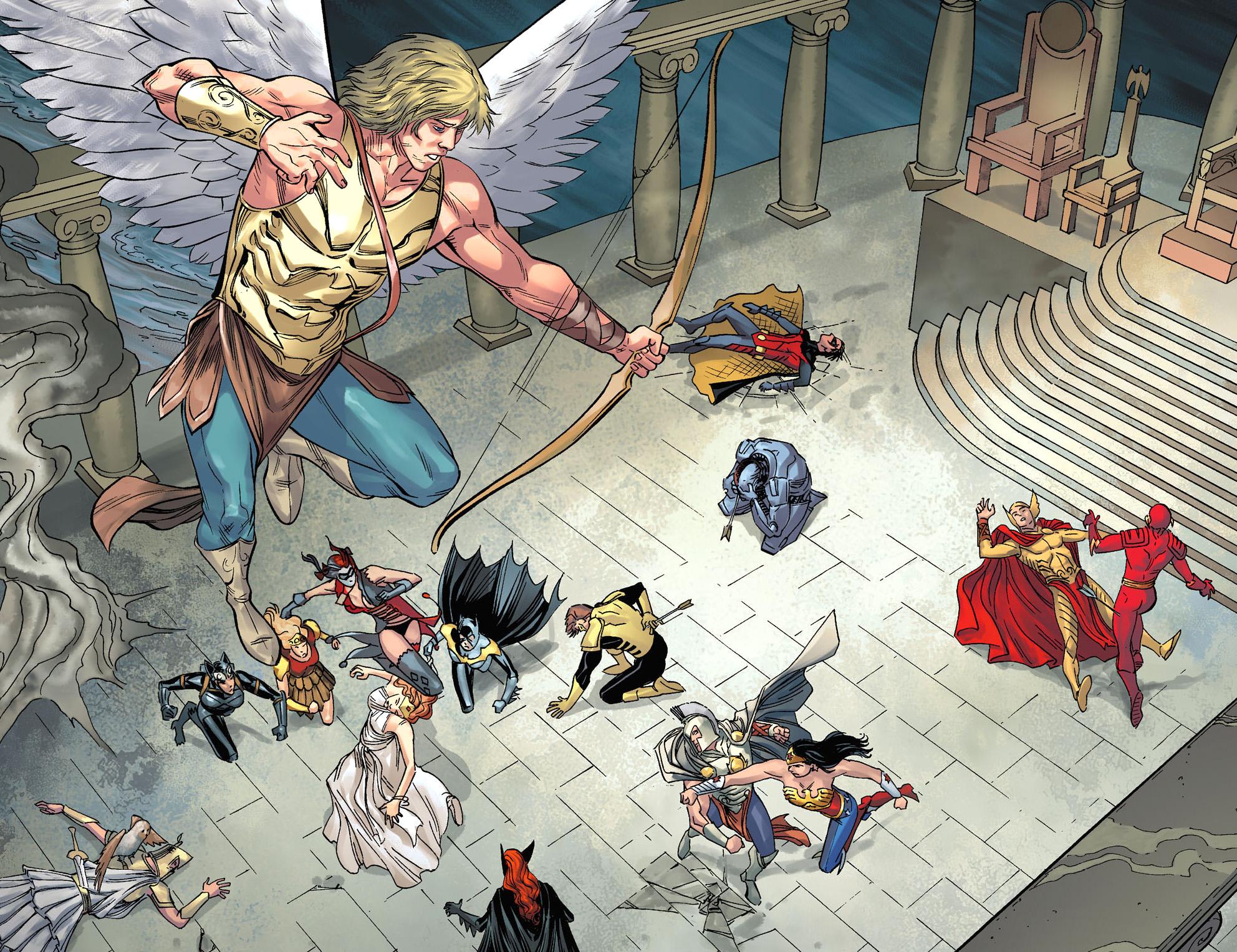 Eros Injustice Gods Among Us