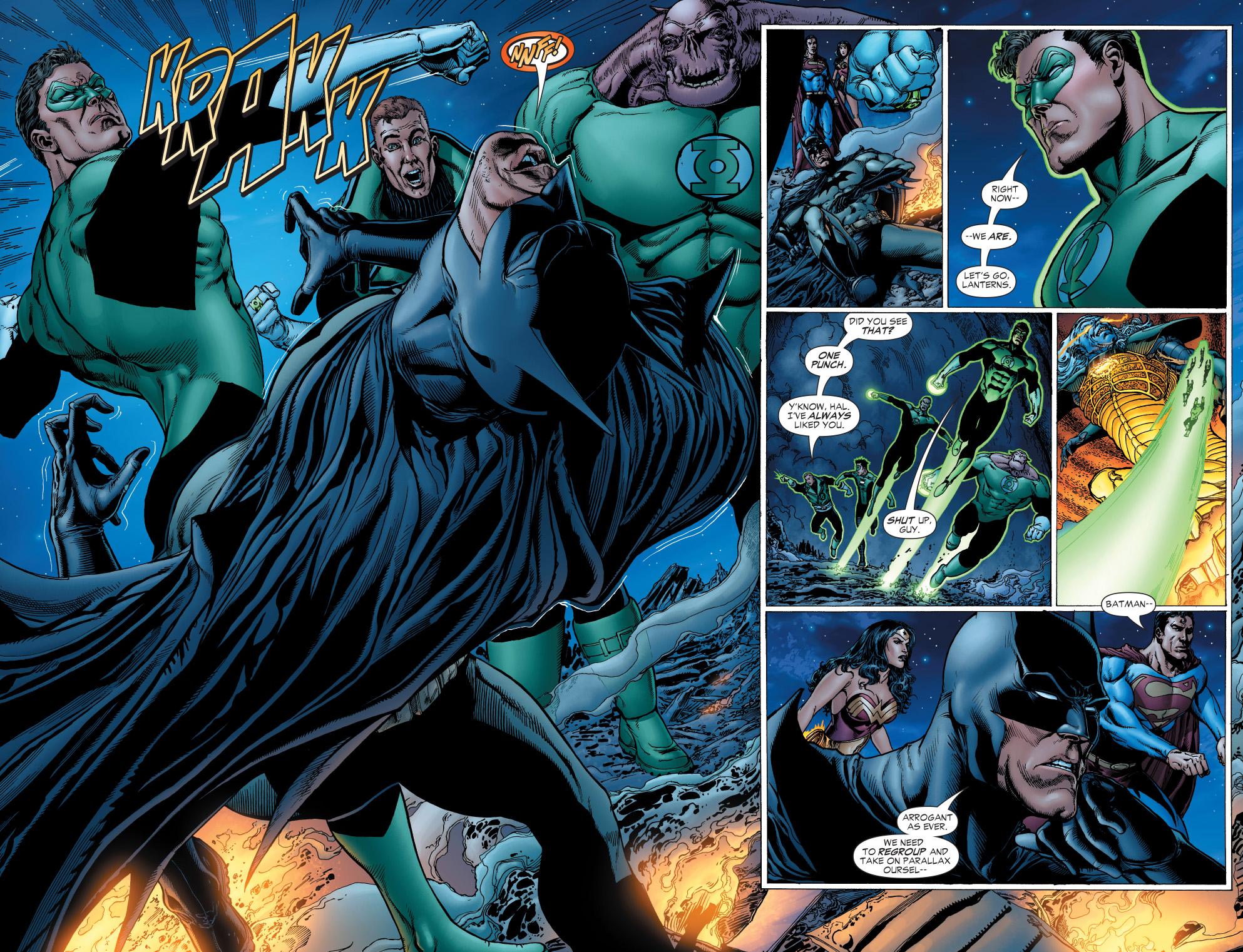 Batman Takes Hal S Ring