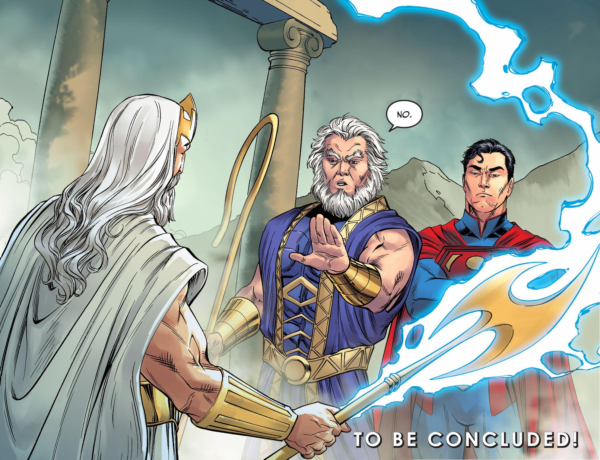 Highfather Stops Zeus | Comicnewbies X 23 Gambit