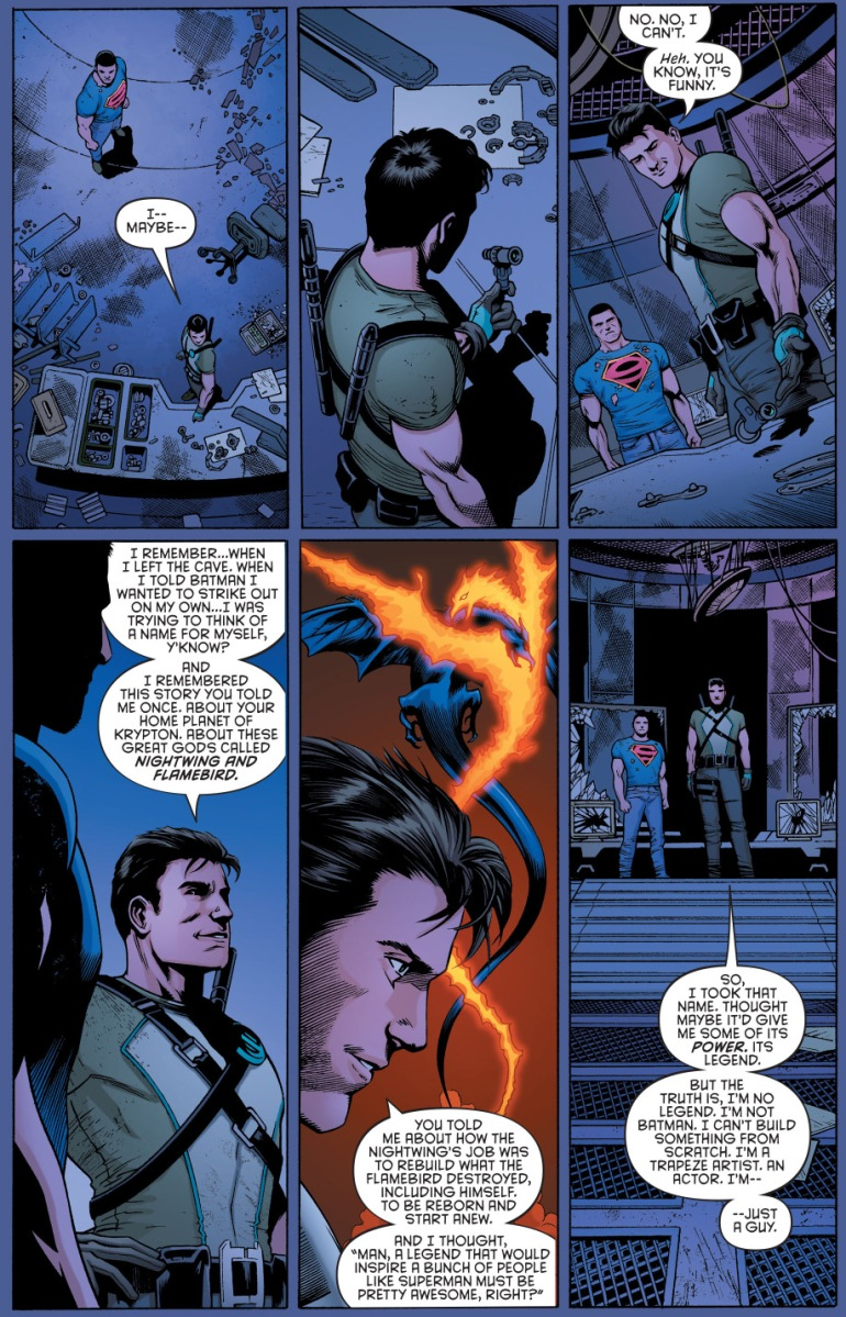 How Dick Grayson Chose The Nightwing Alias New 52