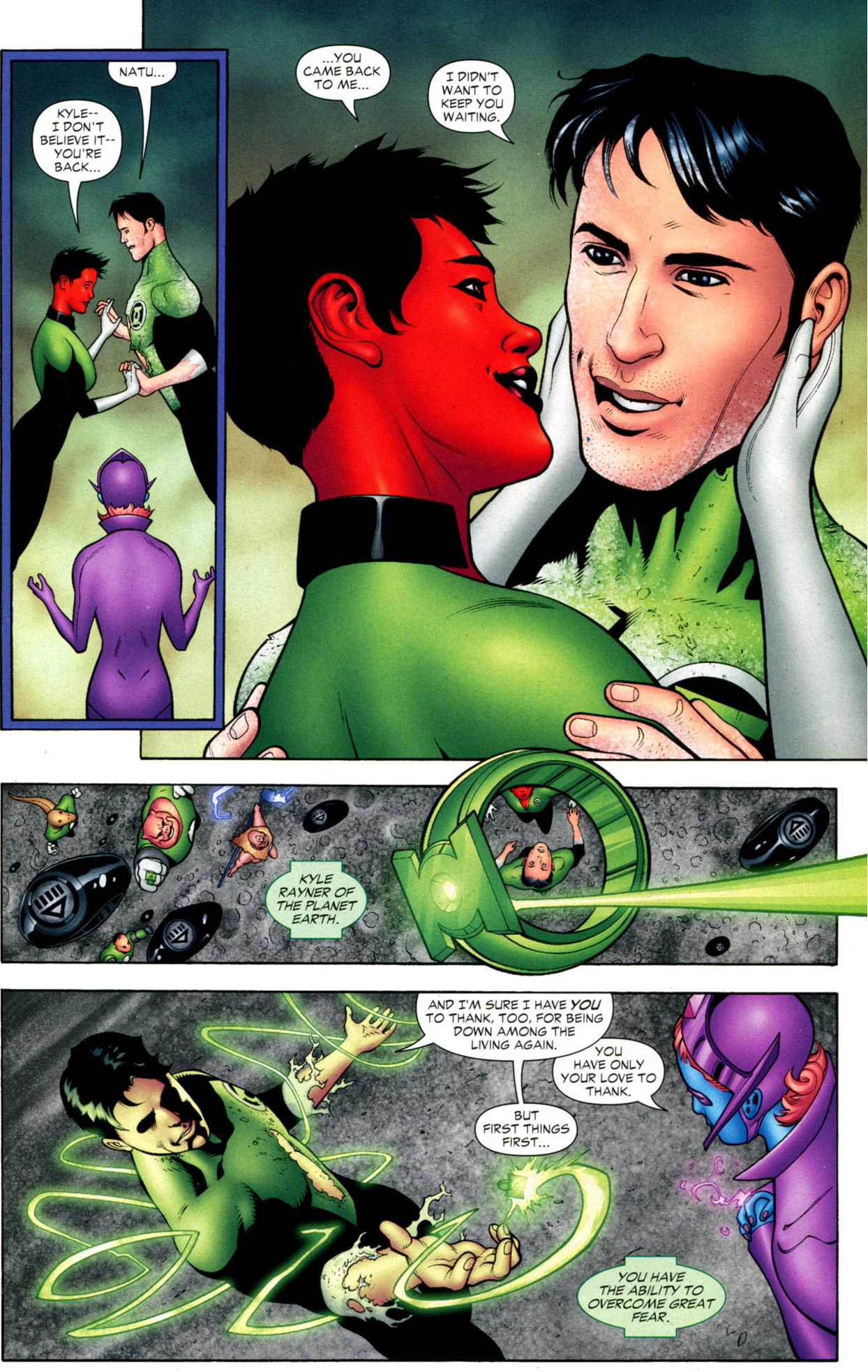 How Kyle Rayner Was Brought Back To Life Comicnewbies