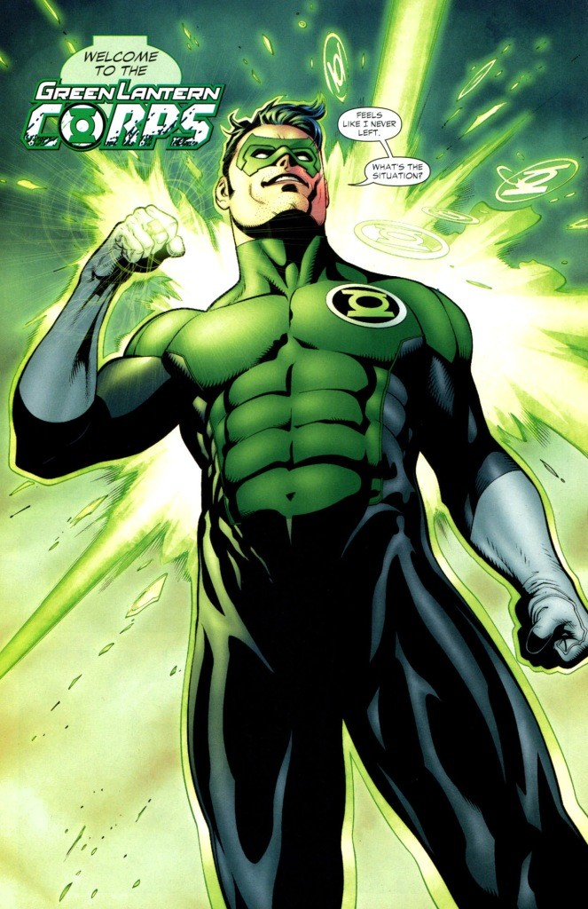 how kyle rayner was brought back to life