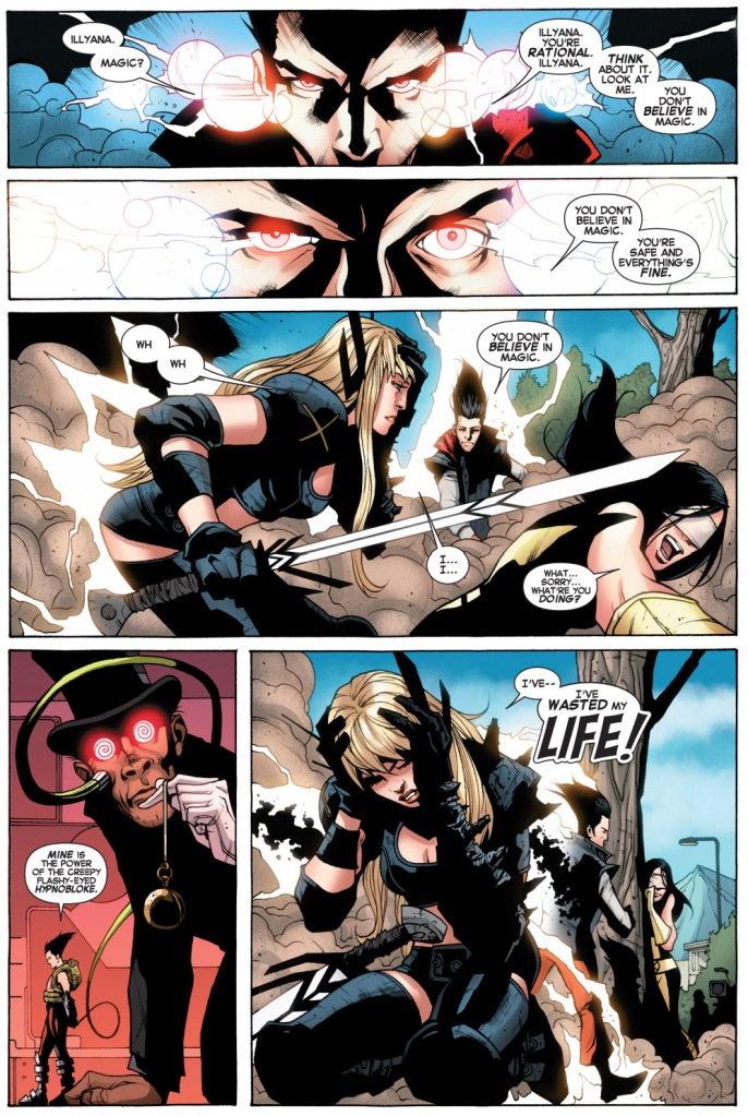 how legion beat magik