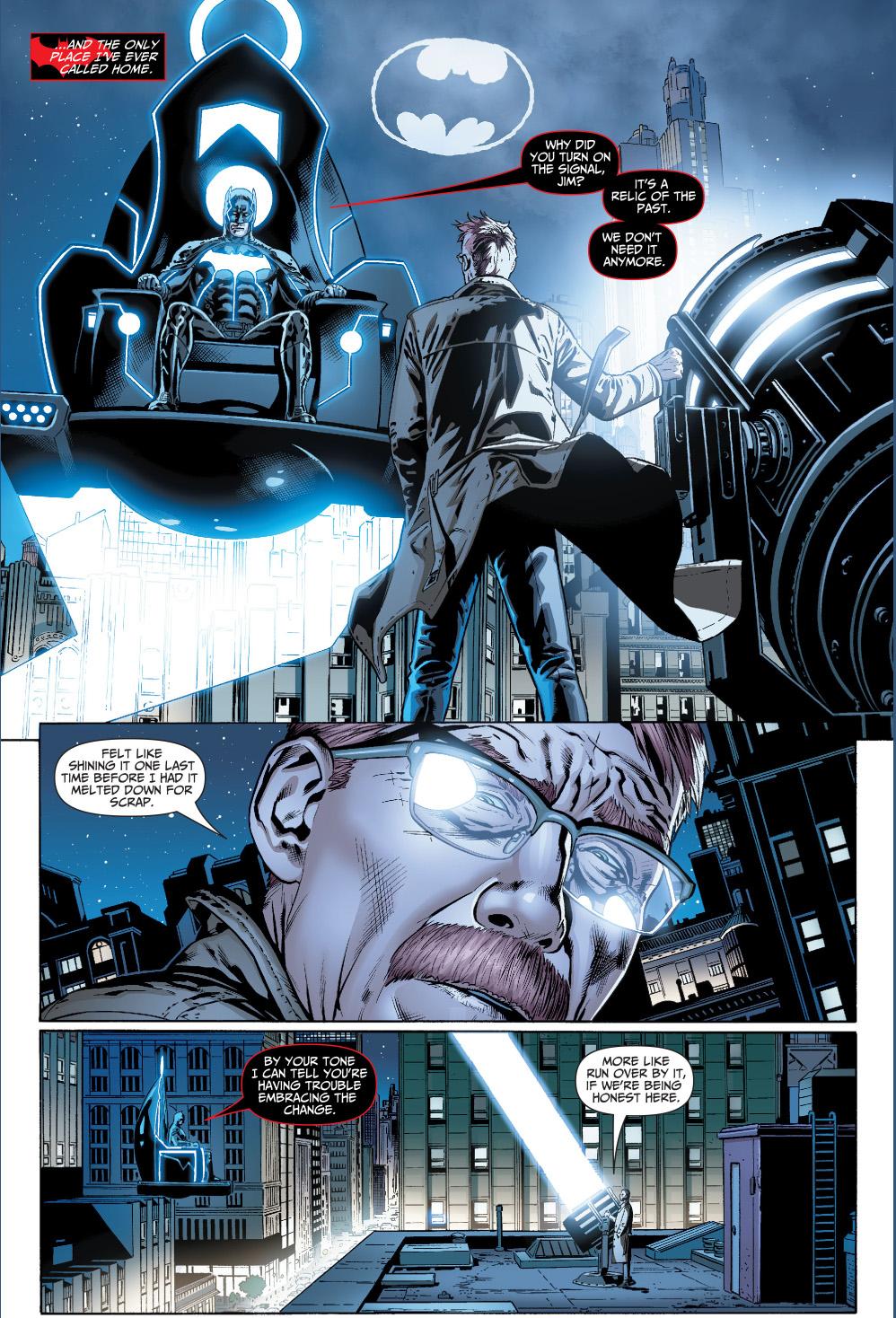 jim gordonu0027s problem with batgod & mobius chair | Comicnewbies