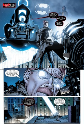 jim gordon's problem with batgod