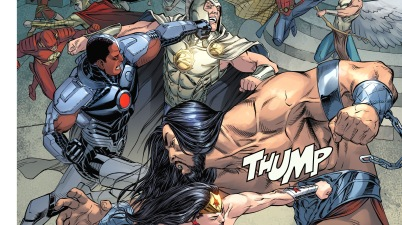 justice league vs greek gods (injustice gods among us)