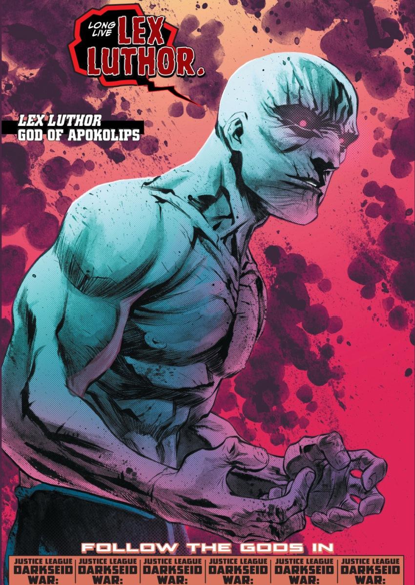 lex luthor becomes the god of apokolips comicnewbies