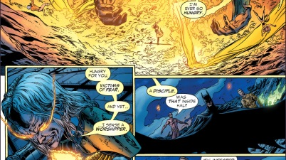 parallax recognizes batman
