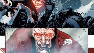red lantern guy gardner's first kill