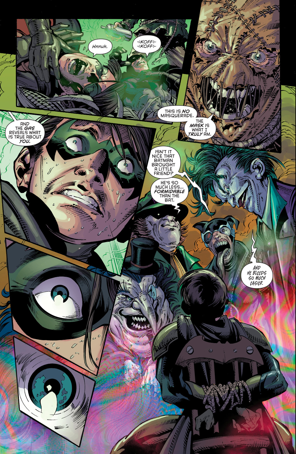 robin�s hallucinations from the fear toxin new 52