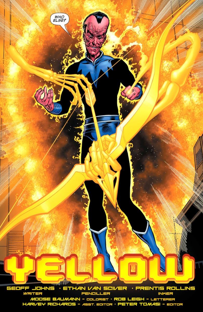 Sinestro Rebirth Comicnewbies