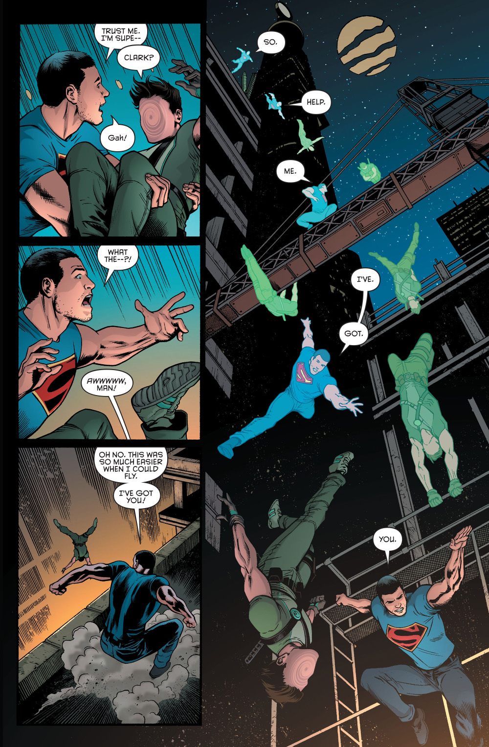 Nightwing Vs Spiderman Superman Learns Dick G...