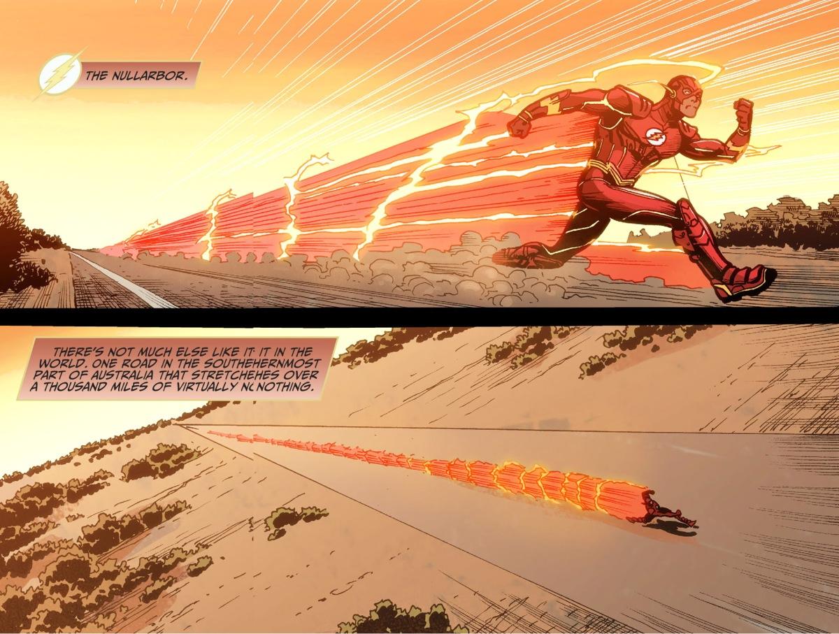 Black Spiderman Comic The Flash Runs The Nul...