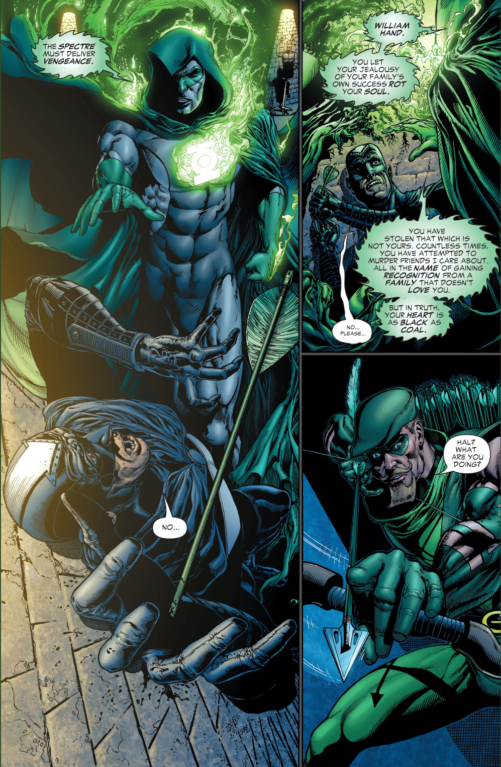 the spectre judges black hand comicnewbies