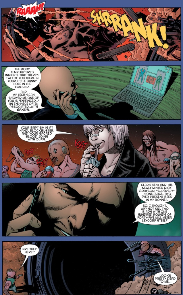 why lex luthor doesn't believe clark kent is superman