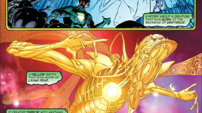 why the green lantern ring didn't work on yellow