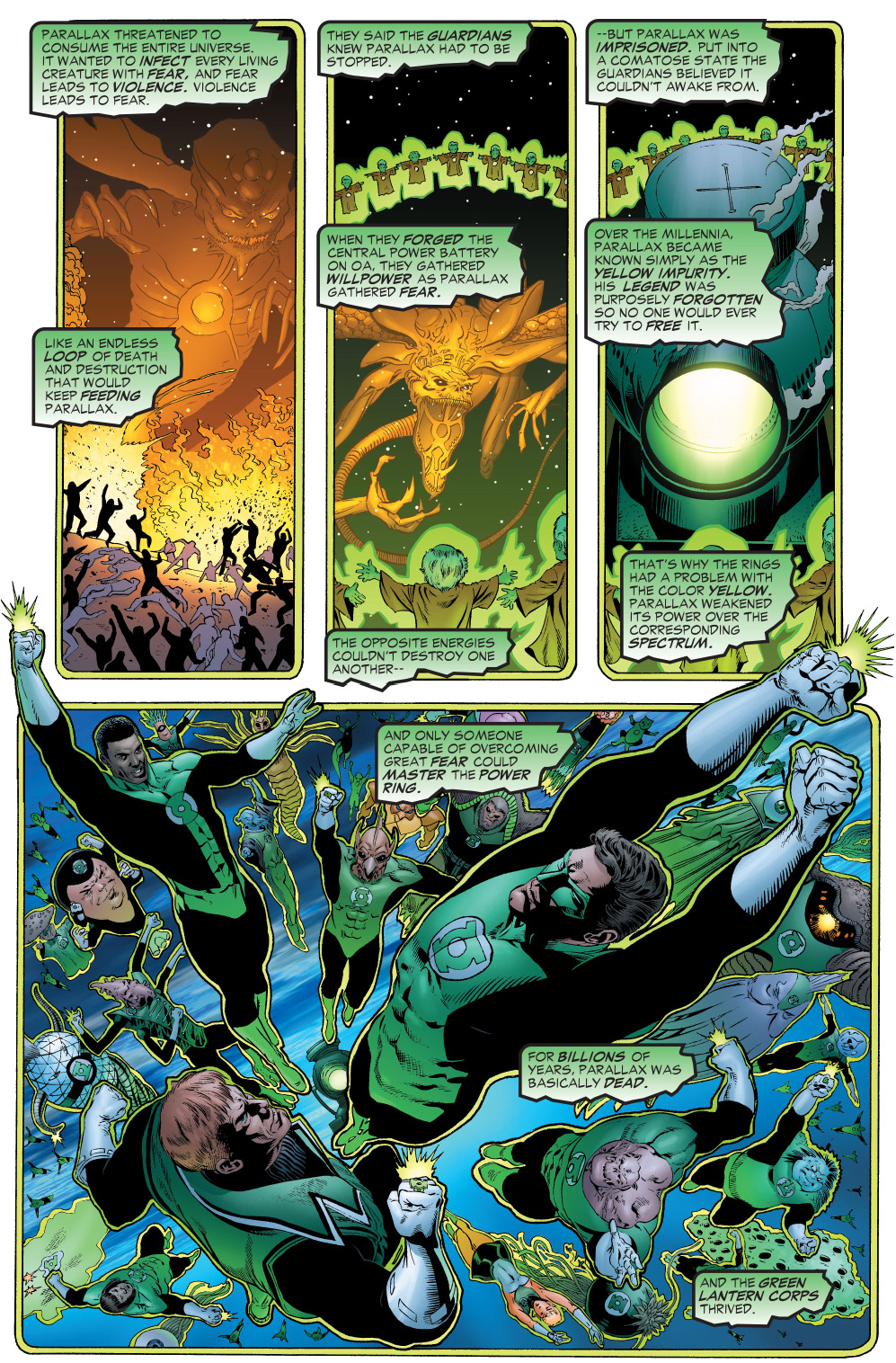 The Green Woman The Empress From The Wildwood Tarot: Why The Green Lantern Ring Didn't Work On Yellow
