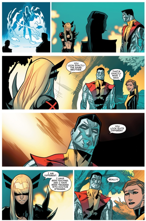 colossus and magik's reunion