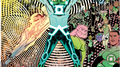 Green Lantern Becomes The God of Light 3