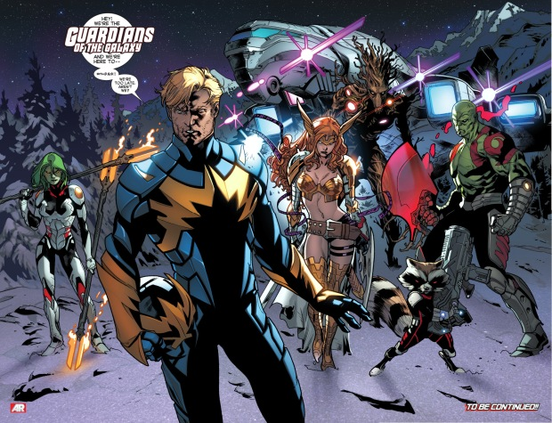 guardians of the galaxy (all new x-men)