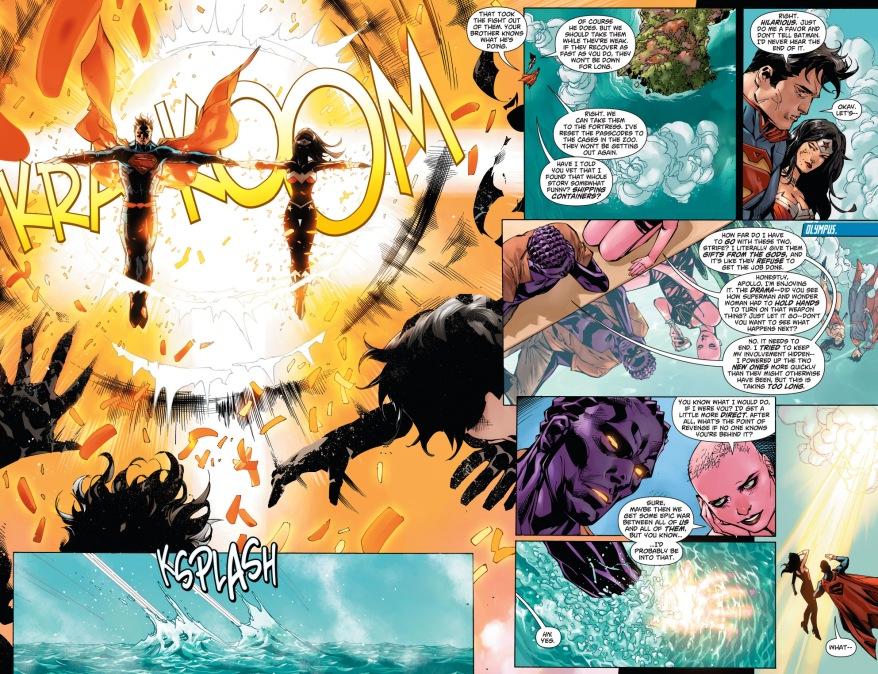 how apollo took his revenge on superman
