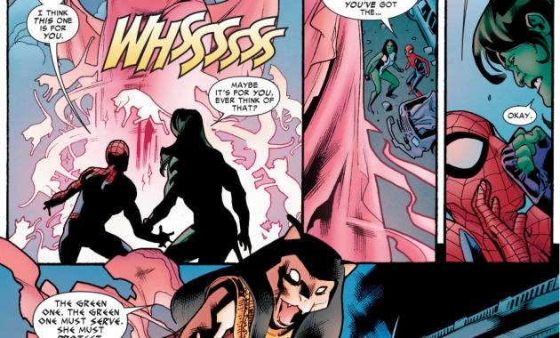 how spider-man tricked the goddess bastet