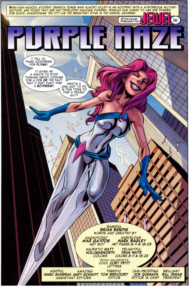 jessica jones' first meeting with the purple man
