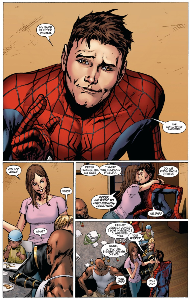 Jessica Jones Had A Crush On Peter Parker
