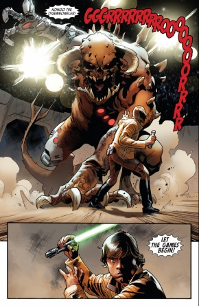 luke skywalker vs kongo the disemboweler