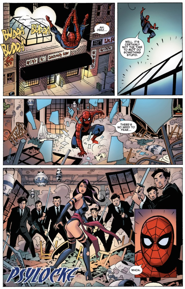 spider-man and psylocke team up