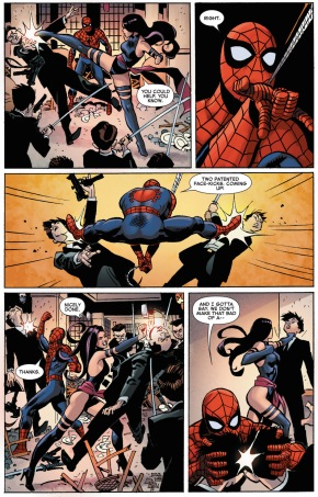spider-man and psylocke team up