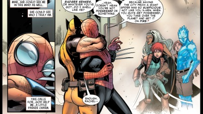 superior spider-man bluffs wolverine and the x-men