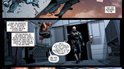 Superior Spider-Man Meets Nick Fury JR