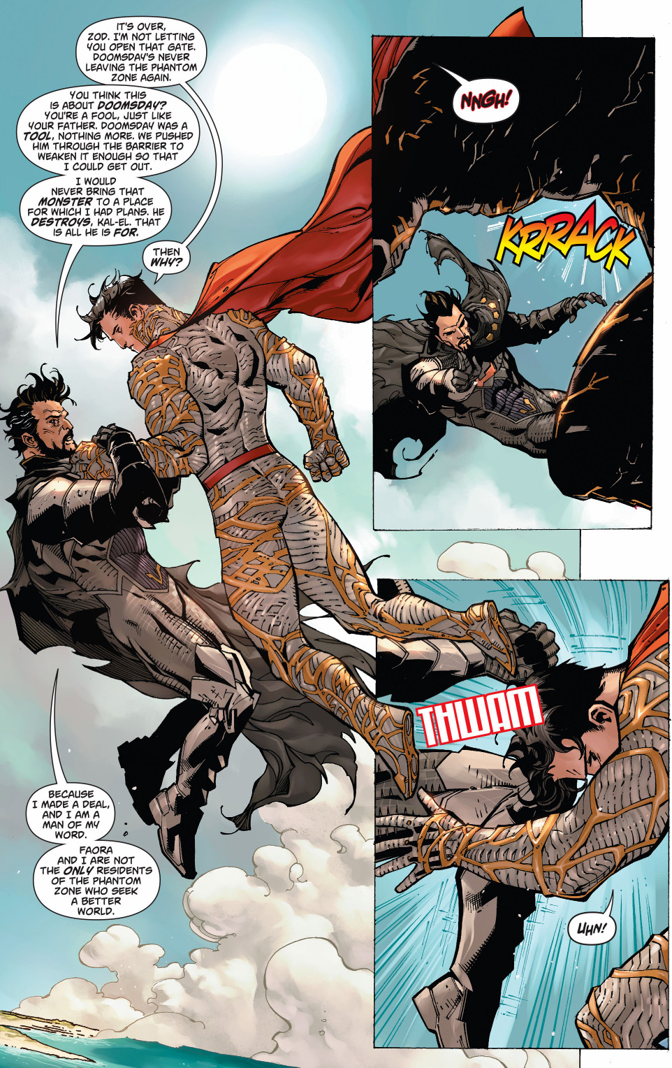Superman And Wonder Woman Vs Zod And Faora  Comicnewbies-5021