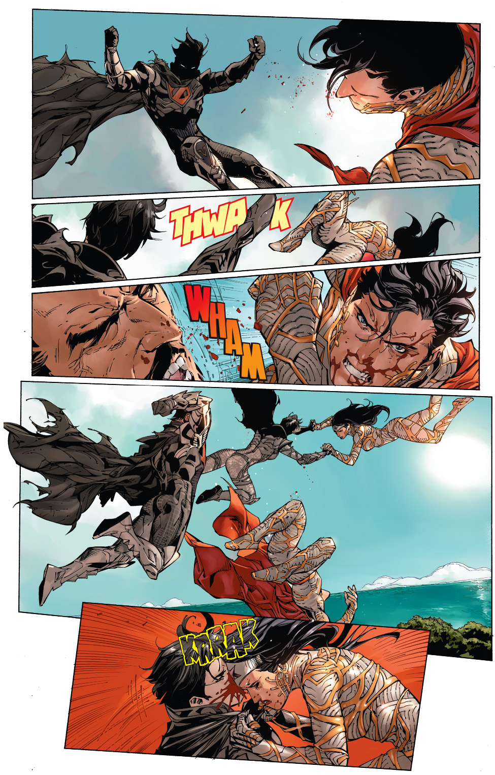 Superman And Wonder Woman Vs Zod And Faora  Comicnewbies-2795