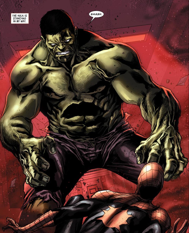 the hulk avenging spider man