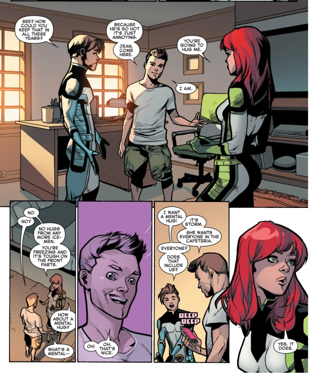 why jean grey doesn't want to hug iceman