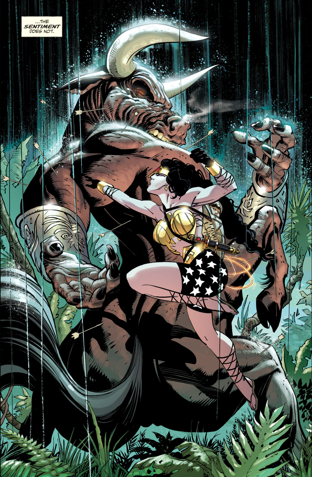 Wonder Woman Vs Minotaur The Master Race Comicnewbies