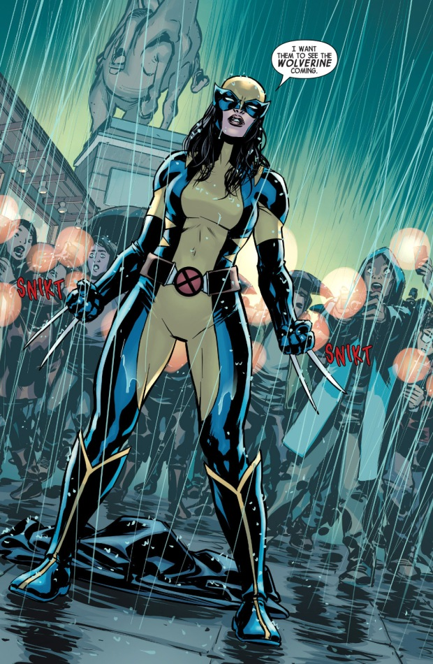 With Wolverine�... X 23 Comic