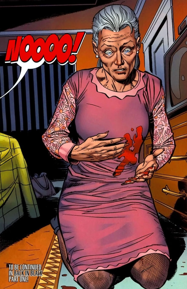 aunt may gets shot