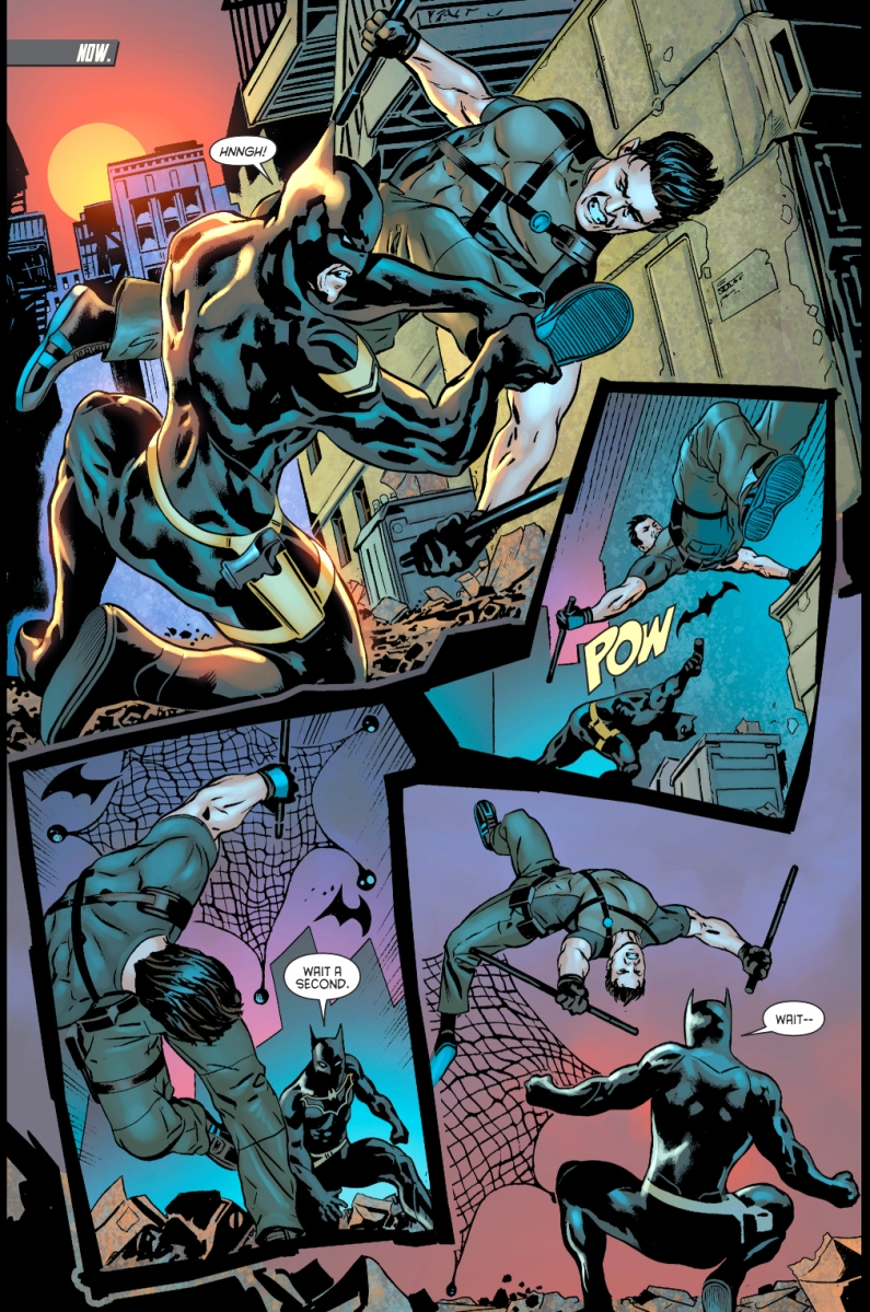 Seems me, dick grayson new batman
