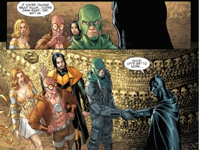 batman recruits the rogues
