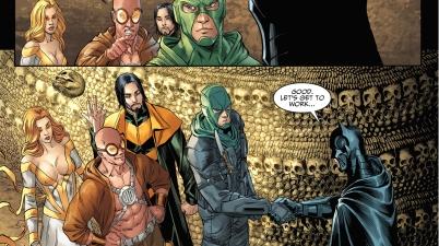 batman recruits the rogues