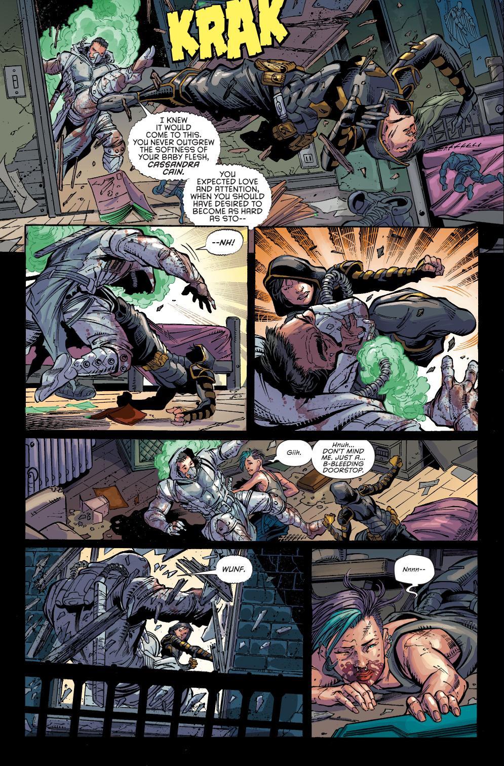 Cassandra Cain VS The Orphan Comicnewbies