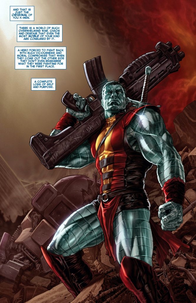 colossus (all new x-men 25)