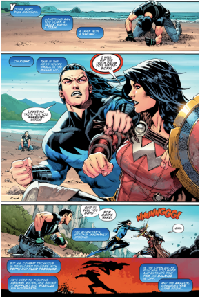 donna troy vs garth