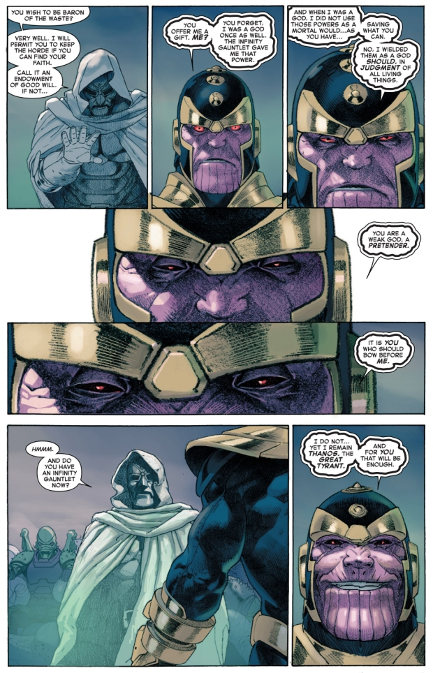 god doom kills thanos