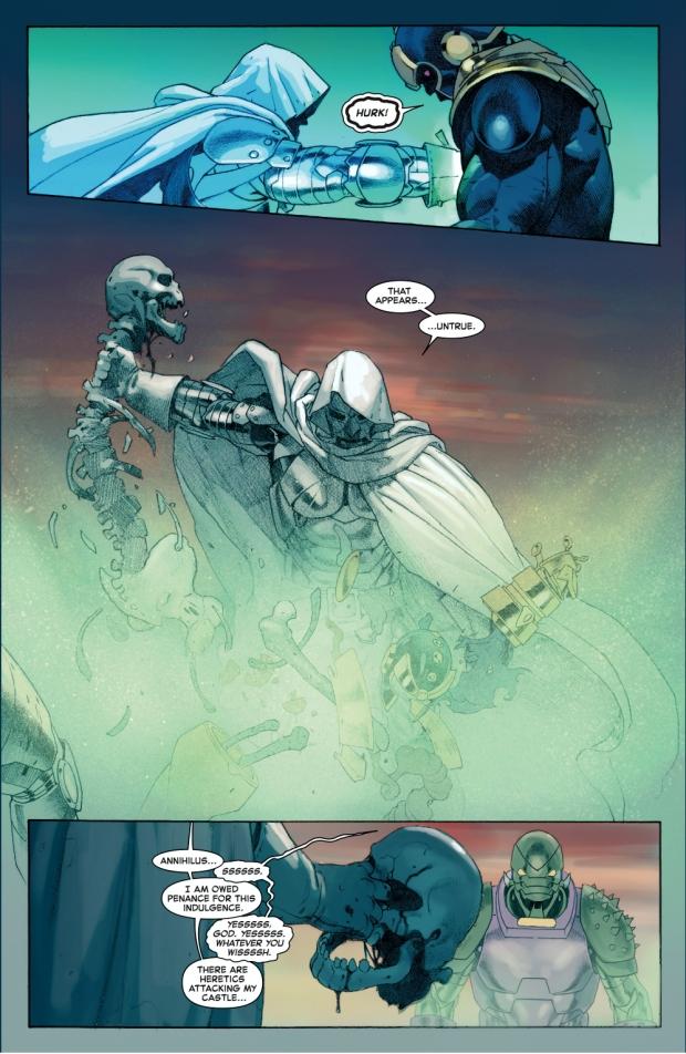 god doom kills thanos